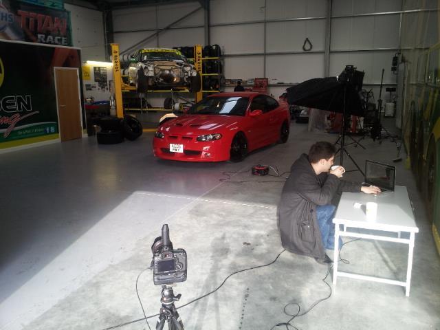 BTS with Darren Woolway Automotive Photographer