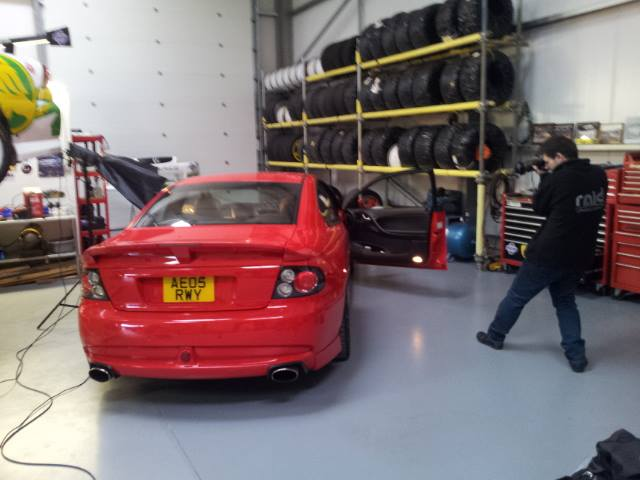BTS with Darren Woolway Automotive Photographer