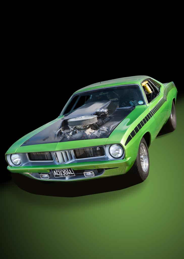 Plymouth Barracuda - Green Fish Racing
