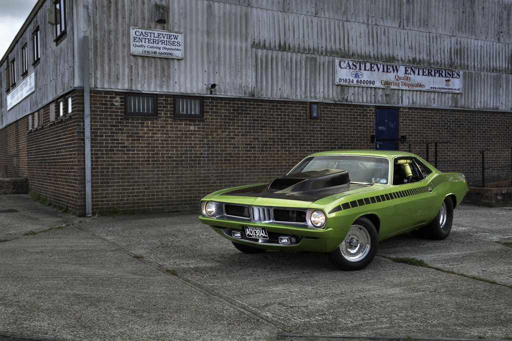 Plymouth Barracuda - Green Fish Racing