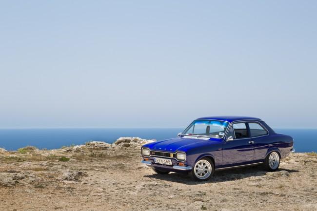 MKI Ford Escort on Dingli Cliffs, Malta