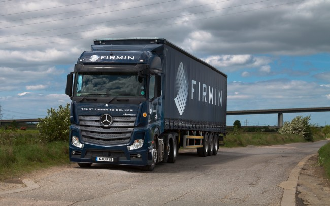 Alan Firmin Mercedes Lorry