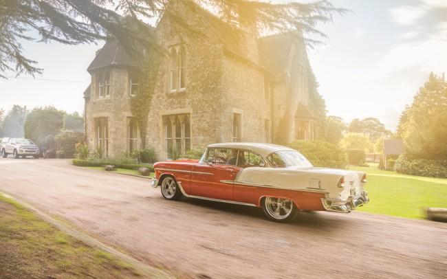 1955 Chevy Chevrolet Bel Air Automotive Photographer London
