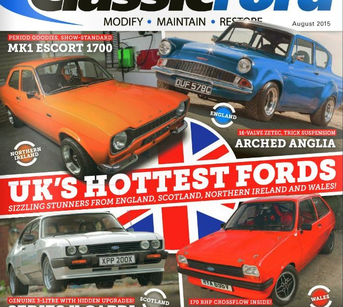Classic Ford Magazine Aug 2015