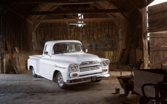 1959 Chevrolet Apache automotive photography for American Car Magazine