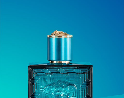 Versace Eros by product photographer Darren Woolway