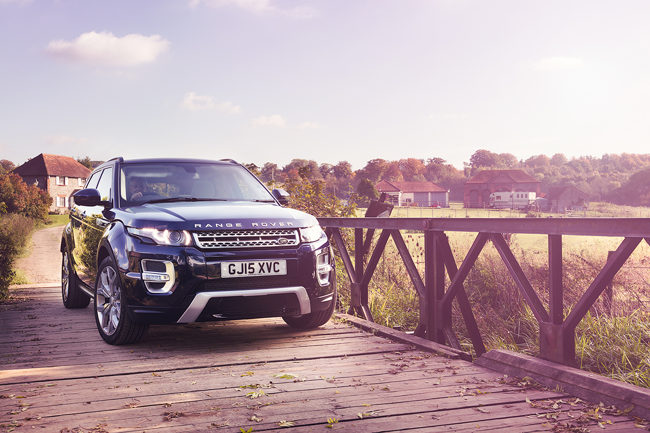 Range Rover Evoque by Darren Woolway Commercial Photographer