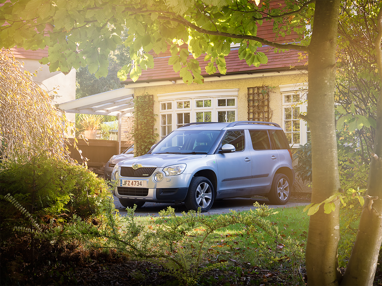 Skoda Yeti by Car Photographer Darren Woolway Kent London
