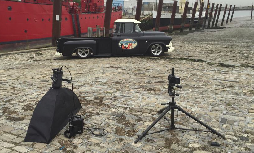 Automotive Photographer photographs American Car Hot Rod in the UK
