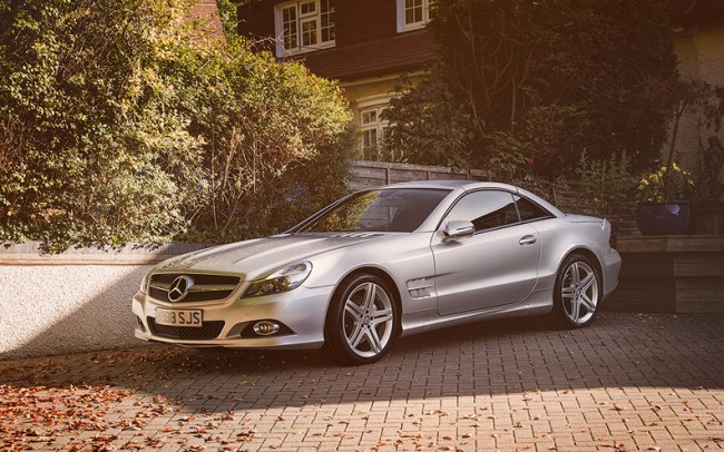 Mercedes SL550 cropped