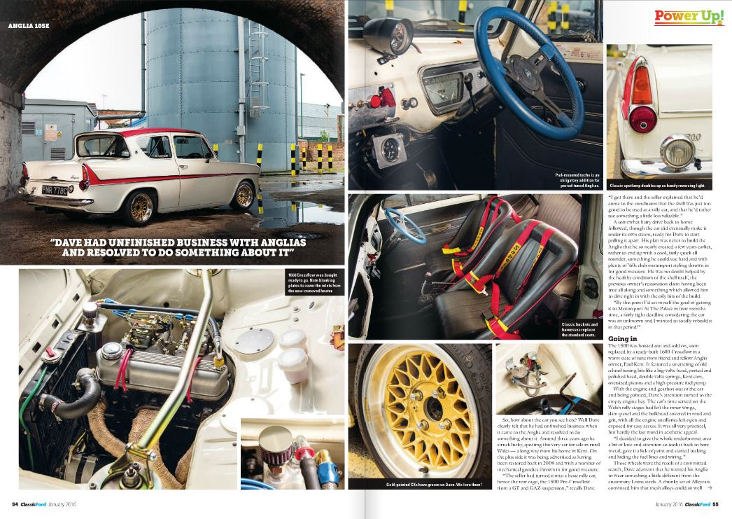 Classic Ford Magazine Jan 2016