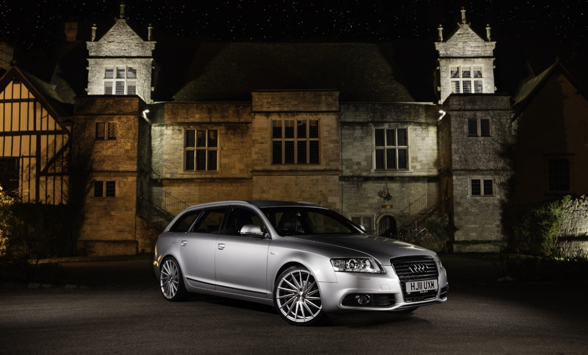 Audi A6 automotive photographer in Kent