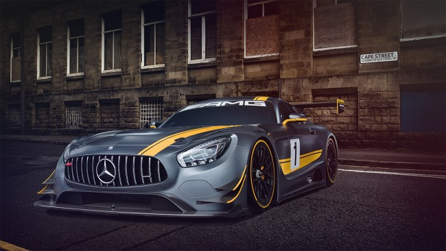 Mercedes-AMG GT3 by Darren Woolway