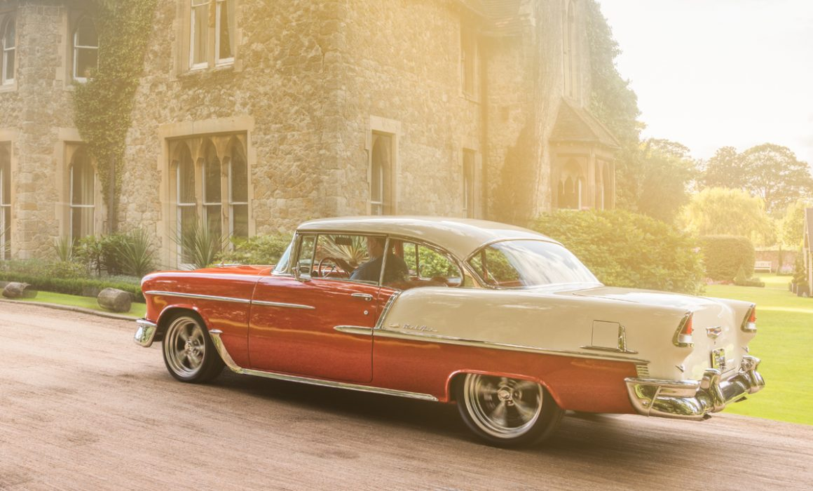 1955 Chevy Bel Air by automotive photographer Darren Woolway