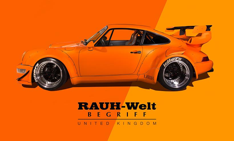 Rauh-Welt Begriff United Kingdom Porsche 964 911