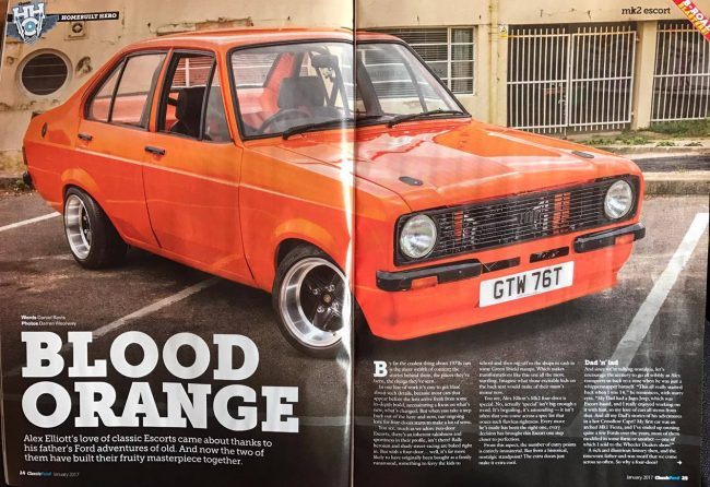 MK2 Escort Orange
