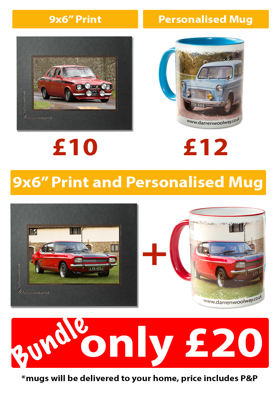 Personalised Car Mugs
