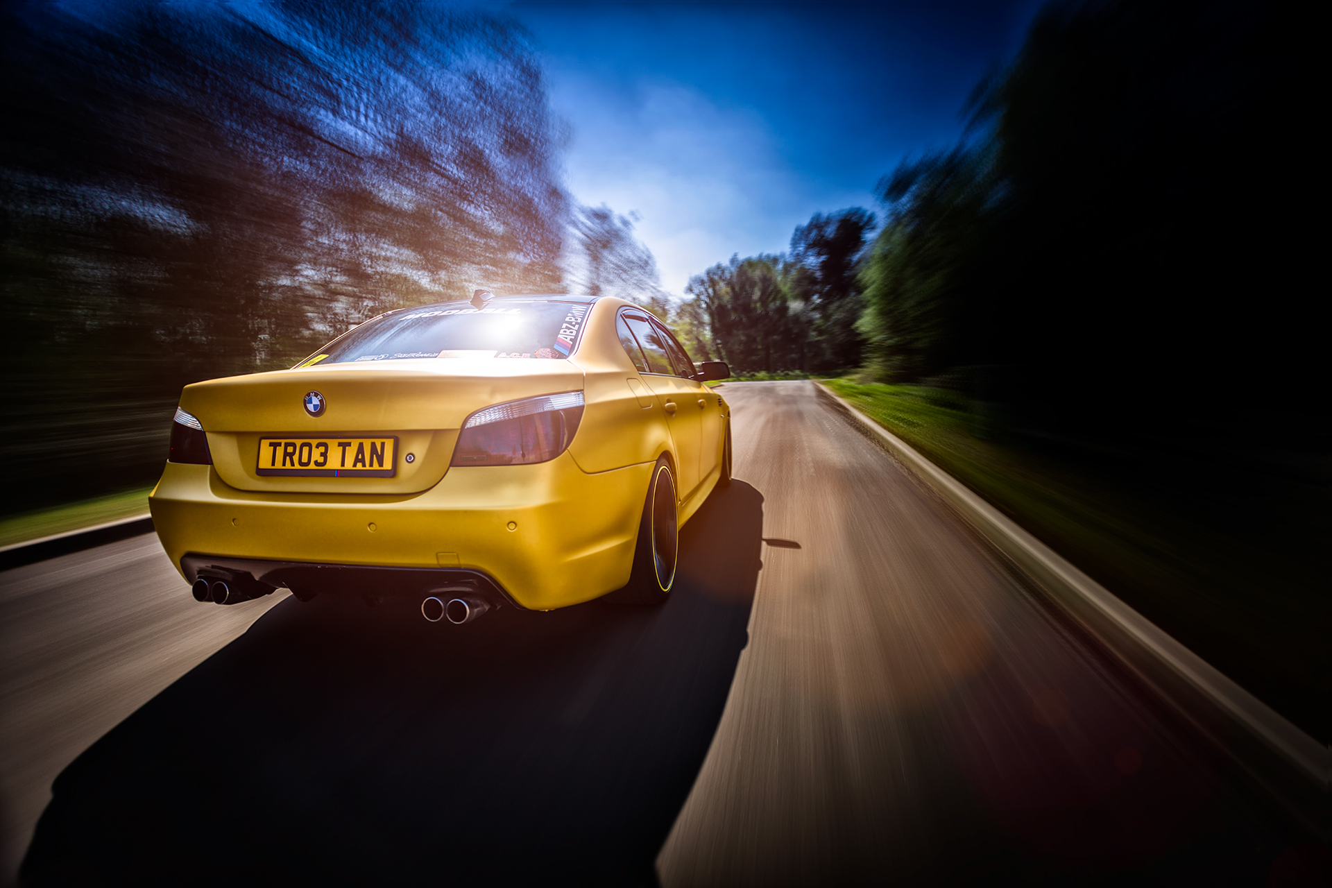 BMW e60 545i