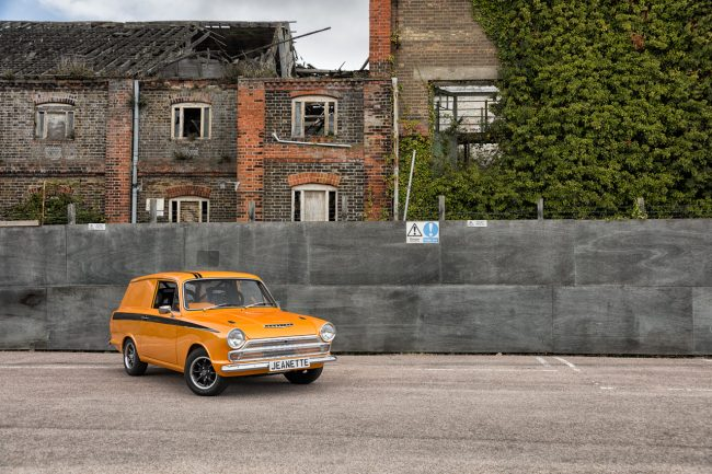 Ford Cortina Van London Car Photographer