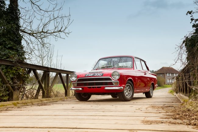Ford Cortina Car Photographer Kent