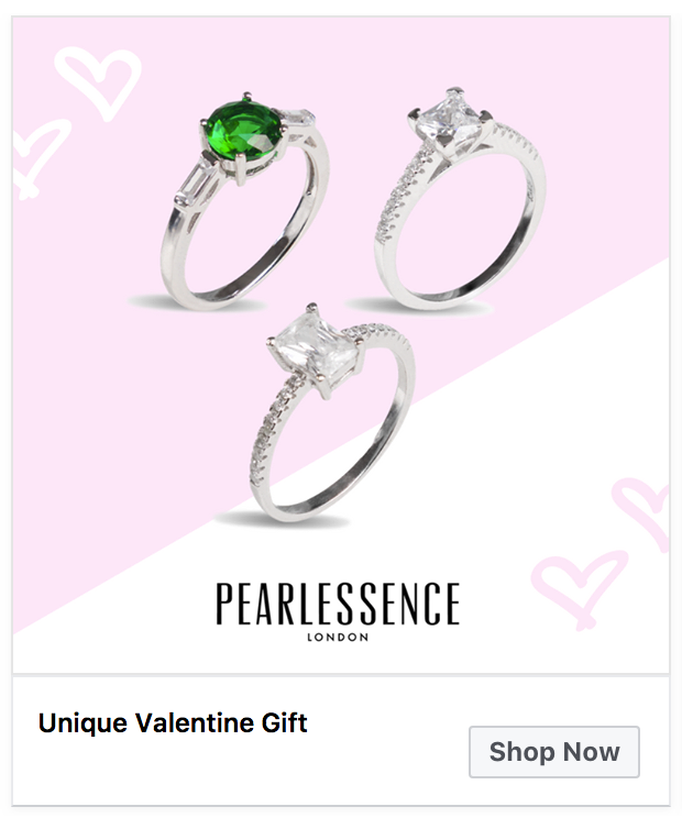 Pearlessence London Valentines Campaign
