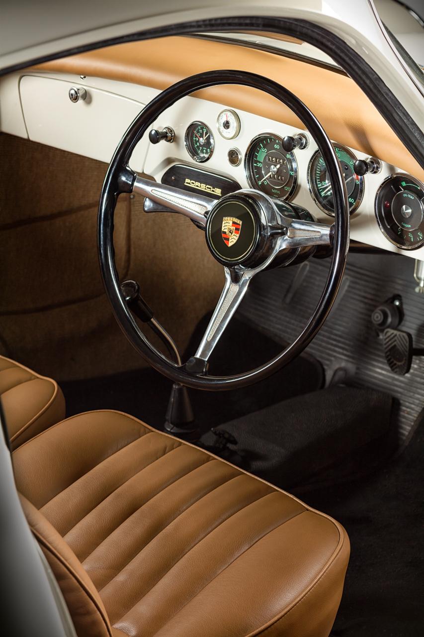 Porsche 356 Coupe Interior