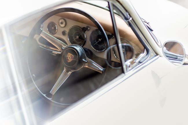 Porsche 356 Coupe Interior