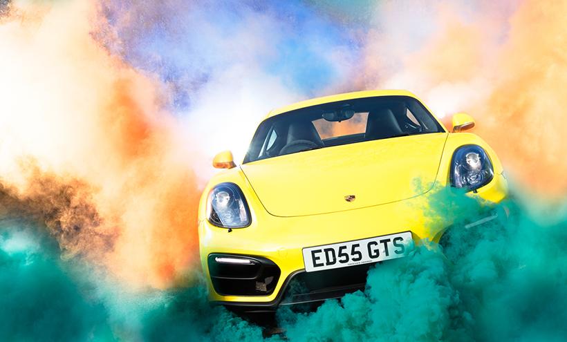 Porsche Carrera GTS in Smoke