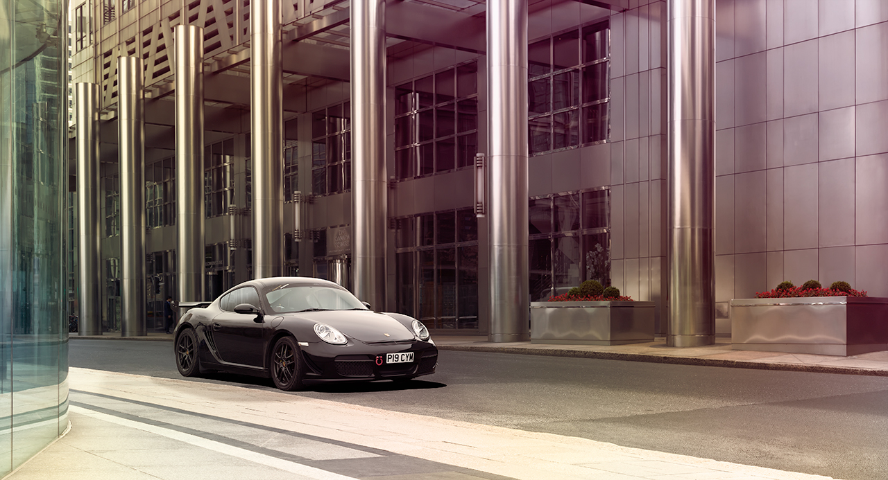 Porsche 987 One Canary Wharf