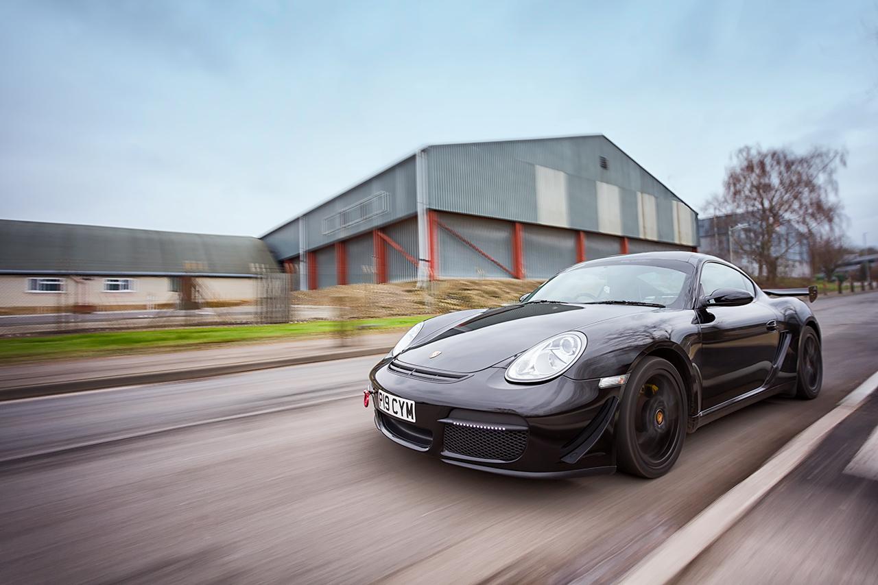 Porsche 987 rig shot Kent